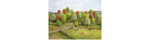 Listnaté stromy jarní, 10 kusů, 5 až 9 cm, Noch 26906