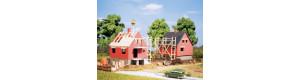 Rozestavěné domy, 2 kusy, TT, Auhagen 12215