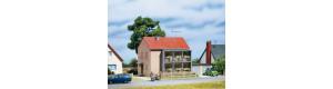 Bytový dům, H0/TT, Auhagen 12236