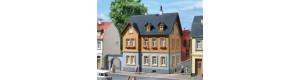 Zaměstnanecká bytovka, H0/TT, Auhagen 12258