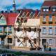 Městský dům při rekonstrukci, H0/TT, Auhagen 12270