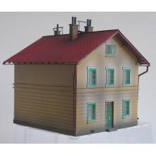 Stavebnice ÖLEG bytového domu, bobrovka, TT, KB model 4109BB