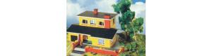 Rodinný domek s krbem žlutý, TT, Malá železnice 21033.02