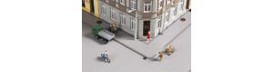 Chodníkové panely a příslušenství, H0/TT, Auhagen 42657