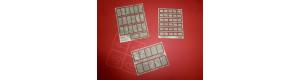 Betonové panely, typ 1, H0, IGRA MODEL 131001