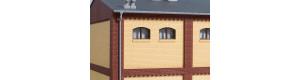 Stěny 2532A, žluté, H0, Auhagen 80624