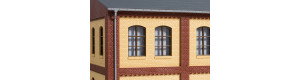 Stěny 2532C, žluté, H0, Auhagen 80625
