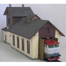 Výtopna KkStB Ledečko, česká taška, TT, KB model 4016CT