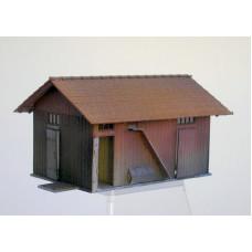 Podružná budova KkStB 107/H, TT, KB model 4060