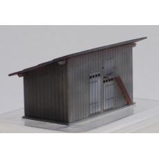 Stavebnice, podružná budova (kůlna) KkStB 102/H, TT, KB model 4066