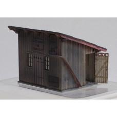 Stavebnice, KkStB vedlejší budova (kůlna) se záchodky 3303/H, TT, KB model 4068