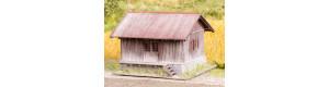 Dřevěné skladiště, stavebnice, N, Model Scene 96600