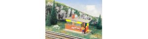 Stavědlový domek Kostelec, žlutý, TT, Malá železnice 21026.02
