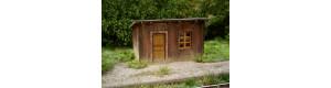 Zastávka dřevěná, stavebnice, H0, Model Scene 98521