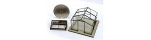 Zahradní set, stavebnice, pařeniště a skleník, TT, IGRA MODEL 140014