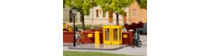 Telefonní budky a poštovní schránky, H0, Auhagen 41662