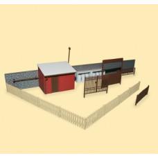 Příslušenství k obytným domům, H0/TT, Auhagen 12256