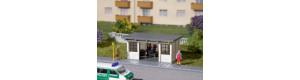 Přístřešky pro autobusové zastávky, 2 kusy, TT, Auhagen 13330