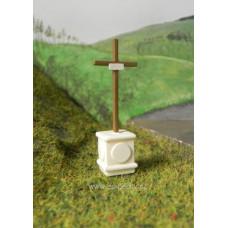 Křížek, 4 cm, TT, ES Pečky 19344