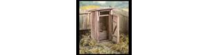 Stavebnice kadibudky, TT, Model Scene 91501