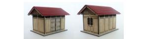 Stavebnice záchodků Malá Hraštice, TT, IGRA MODEL 160002