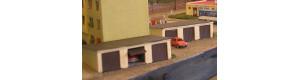Městská garáž trojmístná, TT, KB model 4104