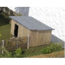 Kůlna dřevěná, TT, KB model 4901
