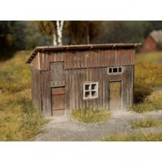 Drážní kůlna, stavebnice, TT, Model Scene 91506