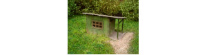 Zahradní domek, stavebnice, TT, Model Scene 91517