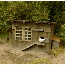 Stavebnice kurníku, TT, Model Scene 91518