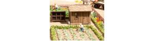 Ovocná zahrada, H0, Noch 14109