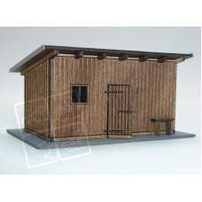 Stavebnice kůlny, typ 1, TT, IGRA MODEL 130010