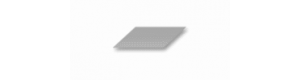 Hliníkový plech, síla 1 mm, 100 x 250 mm, 2 kusy, Albion Alloys SM6M
