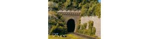 Tunelový portál jednokolejný, 2 kusy, H0, Auhagen 11342