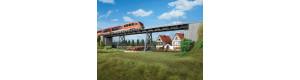 Most s ocelovými pilíři, TT/H0, Auhagen 11430