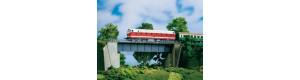 Ocelový most jednokolejný, TT/H0, Auhagen 11341