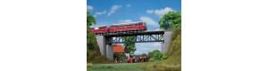 Příhradový most, H0/TT, Auhagen 11364