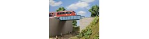 Most s plechovou mostovkou, H0, Auhagen 11441