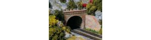 Dvojkolejný tunelový portál, TT, Auhagen 13277