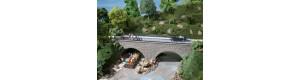 Kamenný silniční most, TT/H0, Auhagen 41589