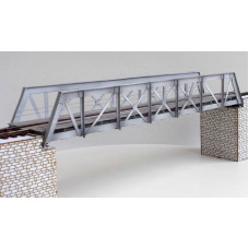 Ocelový příhradový most, bez pilířů, H0, KB model 5411
