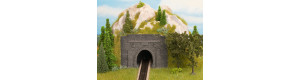 Tunelový portál jednokolejný, kamenný, 2 kusy, TT, Noch 48790