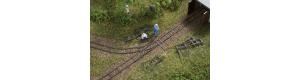 Atrapy kolejí polní drážky, TT, Auhagen 43701
