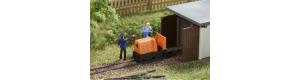 Atrapa lokomotivy polní drážky, TT, Auhagen 43703
