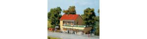Venkovský obchod se smíšeným zbožím, H0/TT, Auhagen 12238
