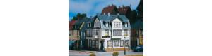 """Rohový dům """"Irská hospoda"""", H0/TT, Auhagen 12255"""