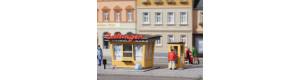 Novinový stánek a telefonní budka, H0/TT, Auhagen 12340