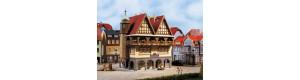 """Hotel """"Bürgerhaus"""", H0/TT, Auhagen 12348"""