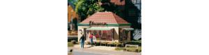 Stánek s květinami, H0/TT, Auhagen 12349