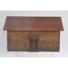Dřevěná stodola, eternit, H0, KB Model 5205ET